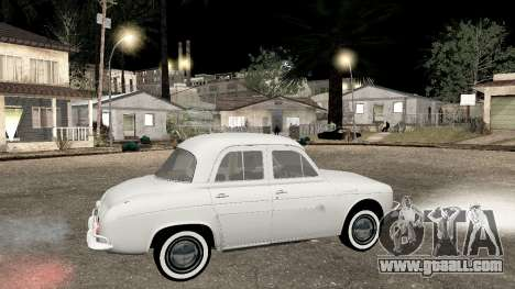 Willys-Overland Gordini III 1966 - Beta for GTA San Andreas left view