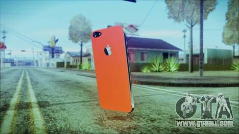 iPhone 5 Red for GTA San Andreas second screenshot