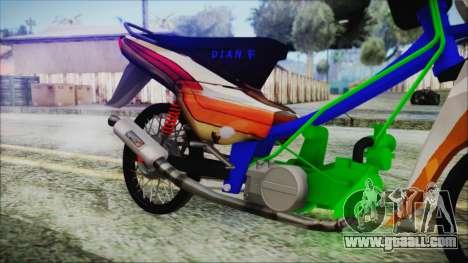 Supra X for GTA San Andreas right view