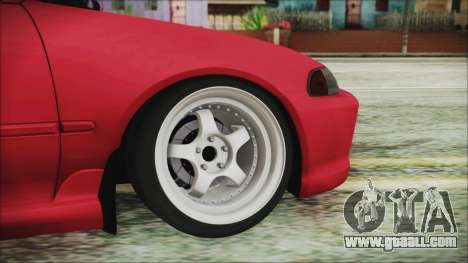 Honda Civic EG6 Hellaflush for GTA San Andreas back left view