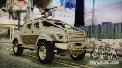 GTA 5 HVY Insurgent Pick-Up for GTA San Andreas