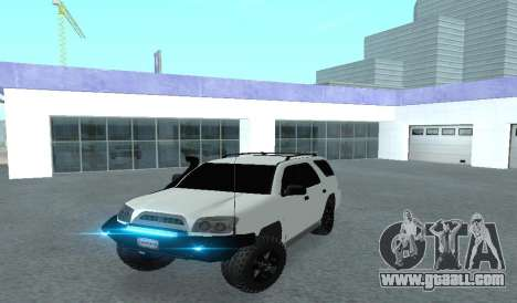 Toyota 4runner 2008 semi-off_road LED for GTA San Andreas