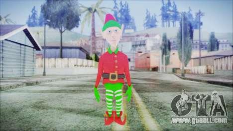 Christmas Elf v1 for GTA San Andreas second screenshot