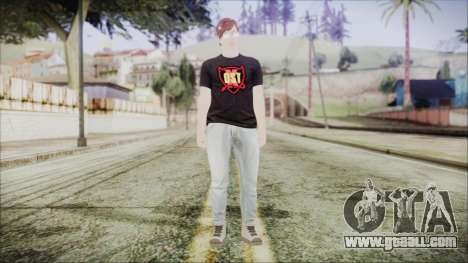 GTA Online Skin 43 for GTA San Andreas second screenshot