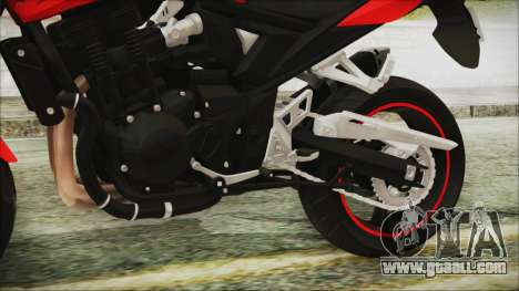 Suzuki Bandit 1250N for GTA San Andreas right view
