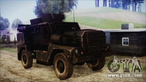 Cougar MRAP 4x4 for GTA San Andreas