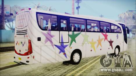 Starbus 34XM for GTA San Andreas left view