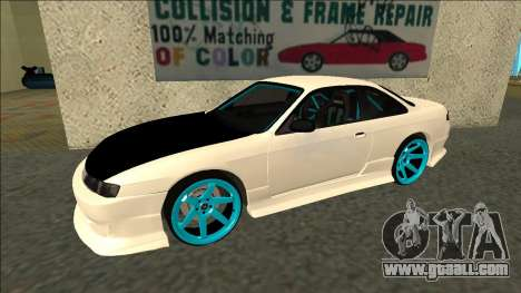 Nissan Silvia S14 Drift for GTA San Andreas left view