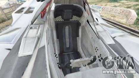 GTA 5 Batmobile Mk2 v0.9 right side view