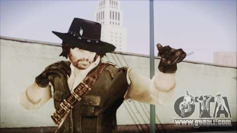 John Marston from Red Dead Redemtion for GTA San Andreas