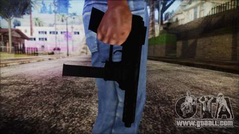 TEC-9 Tiger Stripe for GTA San Andreas third screenshot