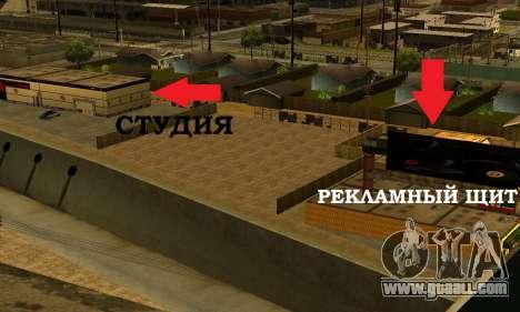 Monster Beats Studio by 7 Pack for GTA San Andreas sixth screenshot