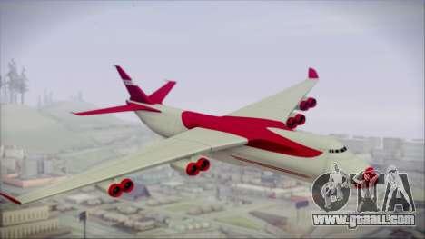 GTA 5 Cargo Plane for GTA San Andreas