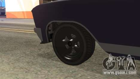 GTA 5 Albany Lurcher Cabrio Style for GTA San Andreas back left view