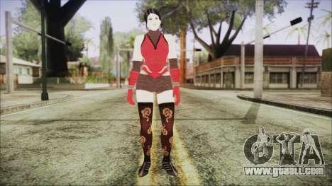 Tekken Tag Tournament 2 Zafina Dress v2 for GTA San Andreas second screenshot