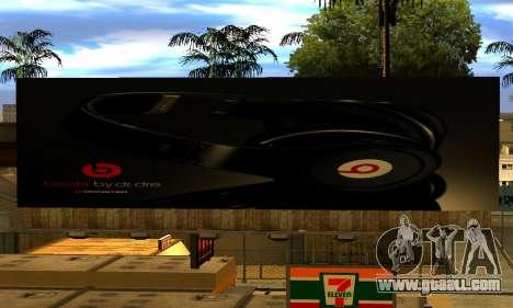 Monster Beats Studio by 7 Pack for GTA San Andreas forth screenshot