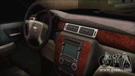 Chevrolet Silverado Triple Door for GTA San Andreas right view