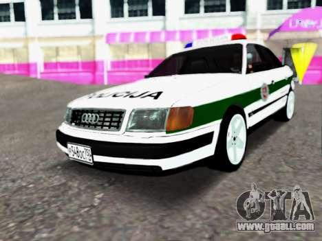 Audi 100 C4 1995 Police for GTA San Andreas