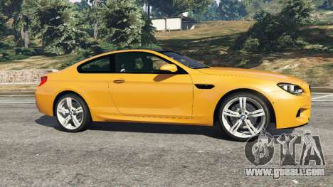 GTA 5 BMW M6 2013 left side view