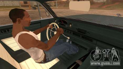 GTA 5 Declasse Clean Voodoo IVF for GTA San Andreas back left view