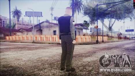 GTA 5 Ammu-Nation Seller 2 for GTA San Andreas third screenshot