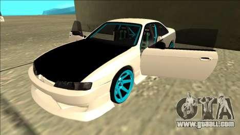 Nissan Silvia S14 Drift for GTA San Andreas interior