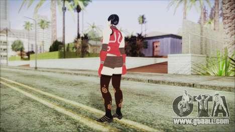 Tekken Tag Tournament 2 Zafina Dress v2 for GTA San Andreas third screenshot