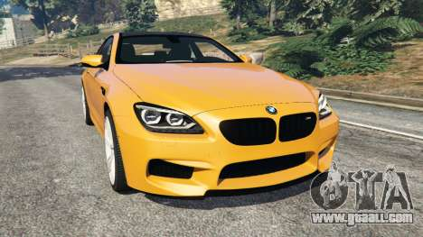 BMW M6 2013 for GTA 5