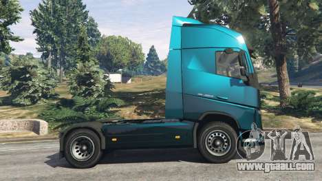 GTA 5 Volvo FH 750 2014 left side view
