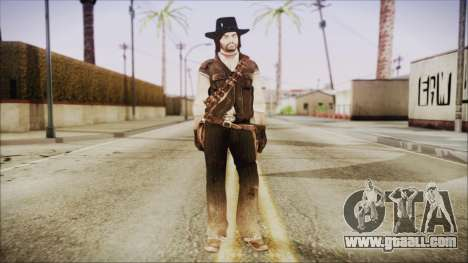 John Marston from Red Dead Redemtion for GTA San Andreas second screenshot