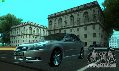 Subaru Legacy for GTA San Andreas left view