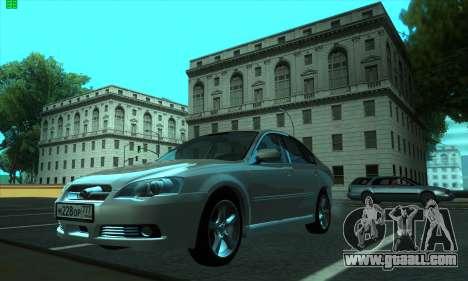 Subaru Legacy for GTA San Andreas left view
