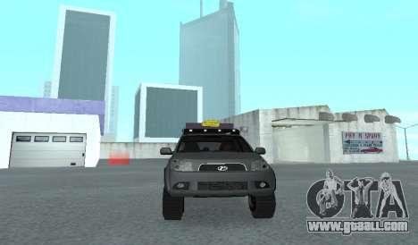Toyota Terios 2009 OFF-ROAD MUD-TERRAIN for GTA San Andreas inner view