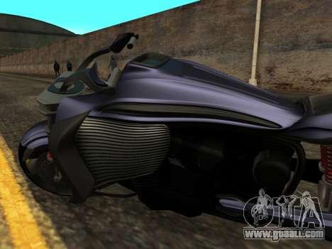 Krol Taurus concept HD ADOM v2.0 for GTA San Andreas inner view