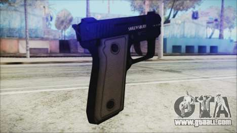 GTA 5 SNS Pistol v3 - Misterix Weapons for GTA San Andreas second screenshot