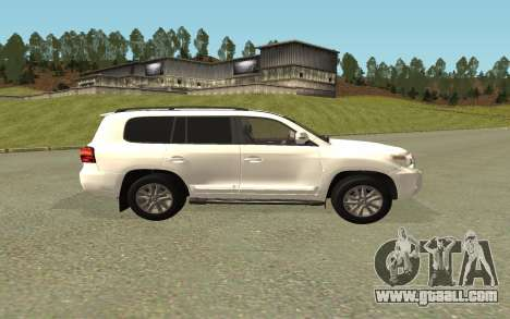 Toyota Land Cruiser 200 Bulkin Edition for GTA San Andreas back left view