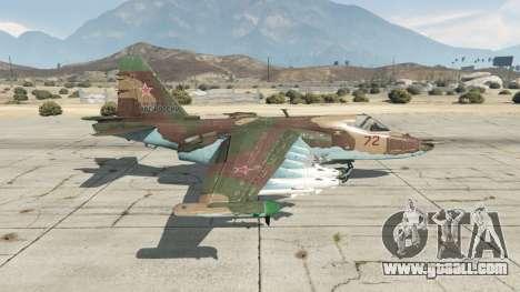 GTA 5 Su-25 v1.1 second screenshot