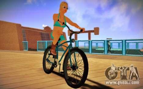 GTA V Cruiser Bike for GTA San Andreas back left view