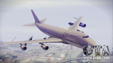 Boeing 747-48E Asiana Airlines for GTA San Andreas