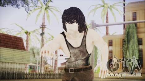 Rambo Shirt for GTA San Andreas