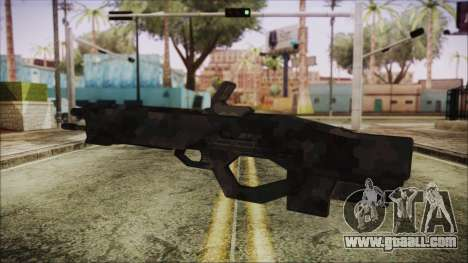 Cyberpunk 2077 Rifle Camo for GTA San Andreas second screenshot