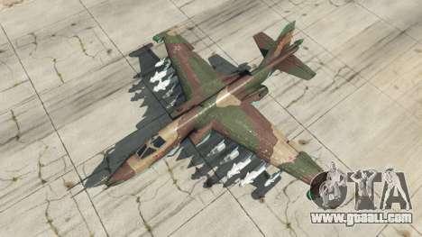 GTA 5 Su-25 v1.1 fourth screenshot