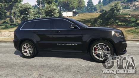 GTA 5 Jeep Grand Cherokee SRT8 2013 left side view