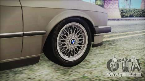 BMW 320i E21 1985 LT Plate for GTA San Andreas back left view