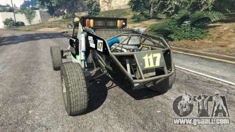 GTA 5 Ickler Jimco Buggy [Beta] rear left side view