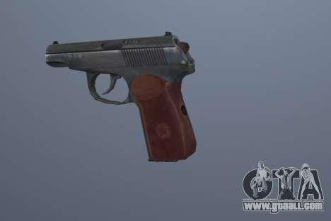 The Makarov Pistol for GTA San Andreas third screenshot