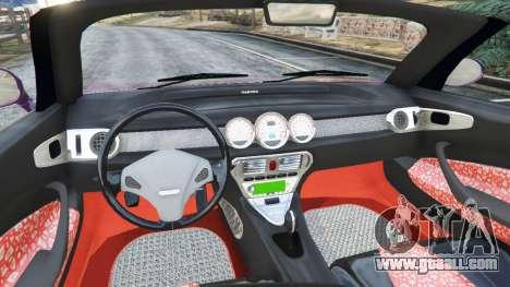 Daewoo Joyster Concept 1997 v1.3 for GTA 5