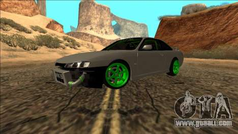 Nissan Silvia S14 Drift Monster Energy for GTA San Andreas right view