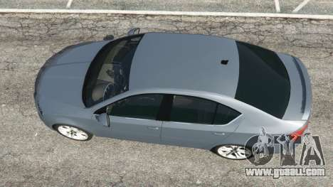 GTA 5 Skoda Octavia VRS 2014 [hatchback] back view