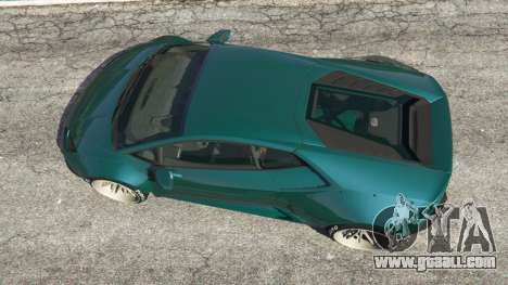 GTA 5 Lamborghini Huracan [LibertyWalk] v1.1 back view